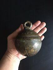 Antique Burmese bronze elephant bell CHU