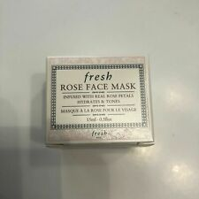 FRESH Rose Face Mask .5oz/15mL Deluxe Travel Size - NIB, FREE SHIP!