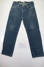 Levis 503 Loose (Cod. Y1679) tg47 W33 L34 jeans ACCORCIATO usato vintage