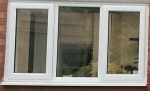 Rehau White Double Glazed Upvc Window