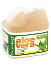 1 Gallon aloe vera from 100% hand cultivated inner gel fillet 128 oz 99.8% pure