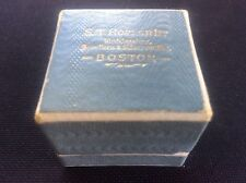 Vintage Jewellery Ring Box ST Hopper Watchmakers Jewellers Silversmiths BOSTON