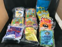 Lot of 10 Misc Vintage McDonalds Happy Meal Toys