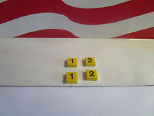 Lego Harry Potter NUMBERS 1 & 2 COMPLETE SET FOR HOGWARTS EXPRESS TRAIN Set 4708
