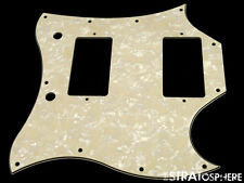 * NEW Aged Pearloid PICKGUARD for USA Gibson SG Standard Guitar 3 Ply 11 Hole