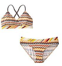 Missoni for Target Bra Bikini Underwear Set 2 Piece XL Colore Chevron NWT