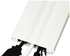 UT Wire Cordline 2-Way Cord Channel in Paintable White, 8-ft Continuous Roll