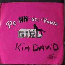 "Kim David & Borzoi: pe-nn-syl-vania girl / cold heart Stoked Records Inc 7"""
