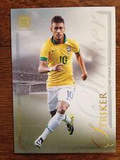 2014 Futera Unique Soccer Card - Brazil NEYMAR Mint