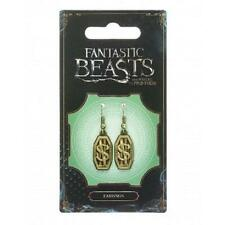 Fantastic Beasts Newt Scamander Logo Earrings Officially licensed Warner Bros