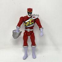 Power Rangers Dino Charge Double Strike Red Ranger Loose Figure Bandai