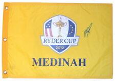 2012 RYDER CUP (Medinah) - JUSTIN ROSE - SIGNED Screen Print GOLF FLAG