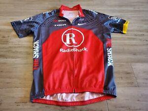 BONTRAGER Cycling Jersey Men's Large Full-Zip RADIO SHACK TREK NISSAN LIVESTRONG