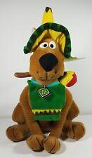 NWT Scooby-Doo Mexican sombrero maracas 15 in dog plush stuffed animal doll toy