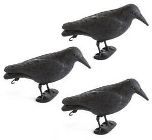 3x Taubenschreck Vogelscheuche Taubenabwehr Vogelabwehr Vogel Krähe Rabe