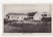 Residence of Napoleon St Helena Vintage RP Postcard 466a