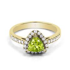Gioielli di lusso verdi oro gialli Purezza metallo 18 Carati