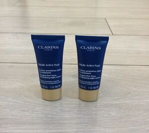 Clarins Multi-Active Nuit 30ml (x2)  Normal To Combination Skin, Night Cream.