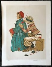Norman Rockwell, She's My Baby, Signed Limited Edition