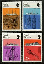South Georgia   1976   Scott #44-47    Mint Never Hinged Set