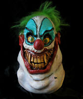 Crazy Sloppy the Clown Evil Scary Circus Adult Latex Full Head Halloween Mask