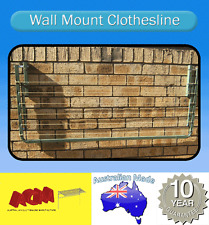 CLOTHESLINE, FOLD DOWN WALL MOUNTED CLOTHES LINE3000mm x 900mm ACM Aust made