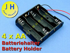 BATTERIEHALTER / BATTERY HOLDER 4 x AA ( R6 )  AKU BATTERY SOCKEL / SOCKET #A320