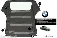 BMW E30 Convertible Soft Top 318 325I 3 series 86 - 93 roof  E-Z On Brand
