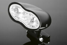 BLACK CUSTOM HEADLIGHT Motorcycle/Chopper/Bobber/Harley/Streetfighter: 68-106DB