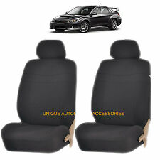 BLACK ELEGANCE AIRBAG COMPATIBLE LOWBACK SEAT COVER for SUBARU FORESTER OUTBACK
