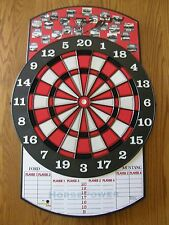 Ford Mustang Challenger Targets Non-Electronic Plastic Tipped Dart Board-New