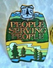 US Forest Service  Department Agriculture People Serving People Pin