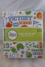 3 pc Circo Score! Collection Sports Twin Sheet Set NIP