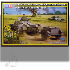 HOBBY BOSS 1/35 PANZERKAMPFWAGEN 1 AUST A WITH AMMO TRAILER KIT