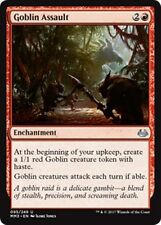 GOBLIN ASSAULT Modern Masters 2017 MTG Red Enchantment Unc