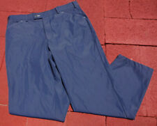 MENS 36 x 30 STROMBERG WINTRA THERMAL TROUSERS WATER RESISTANT BLUE GOLF PANTS