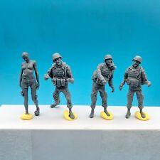 LZModel F35004 1/35 Resin Figure U.S. Army Zombie (4 Figures)
