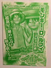 One Piece OnePy Berry Match W Promo PJ-015-W PR