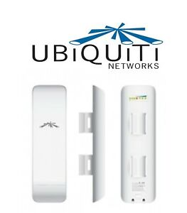 Stock 4 Ubiquiti Networks NanoStation M5 150Mbps Wireless Access Point - Bianco