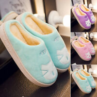 Womens Casual Flats Slip On Shoes Comfy Winter Autumn Sandals Non Skid Slippers