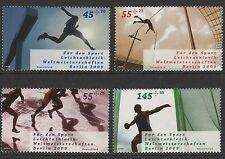 Germania 2009 fondo di promozione sportiva SG 3591-3594 Gomma integra, non linguellato