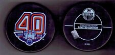 Edmonton Oilers 40th Year in NHL Anniversary Limited Edition Hockey Puck
