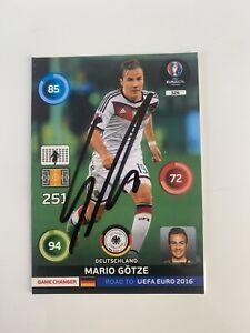 Mario Gotze Signed Autograph Original Germany Football Card