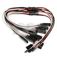 10Pcs 12in RC Universal Servo Y Harness Extension Cable Lead (Futaba/Spektrum/JR