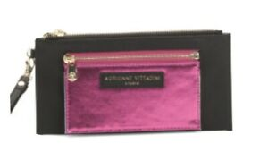 ADRIENNE VITTADINI Metallic Colorblock Wallet  NWT Removable Card Case Ret $34