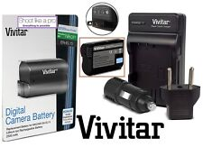 Hi Cap. EN-EL15 Battery & Rapid Charger for Nikon D810 D800 D610 D600 D800E D750
