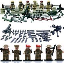 British army World War 2 minifigures bricks building blocks construction lego
