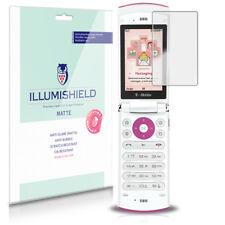iLLumiShield Matte Screen Protector w Anti-Glare/Print 3x for LG dLite GD570