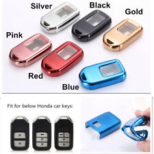 1X Red TPU FULL SEALED PROTECTION key case cover For Honda Jazz Crosstour Accord
