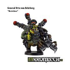Mek-Boss General Otto Rehrborg -Kromlech-Ork Blood Bad Moon Big Warboss Mekboy